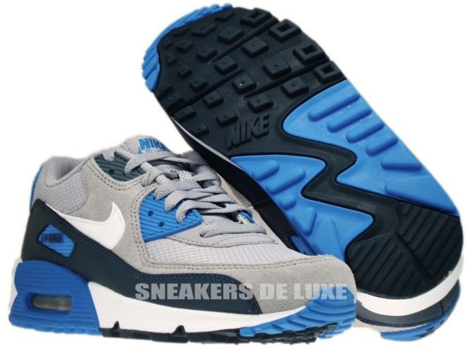 quality design f31ce a5791 nike air max 90 grey blue eng pl 307793 083 Nike Air Max 90 Wolf Grey White  Armory ...