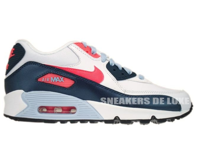 Nike Air Max 90 Atomic Red On Feet Chart Air Force Running Back ... 522ad82e69b9