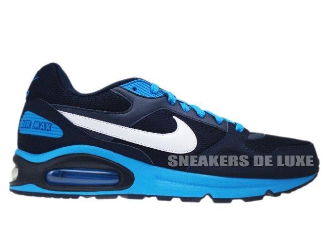 409762-414 Nike Air Max Classic SI Obsidian White-BlueGlow . Nike Air Max  Command Leather ... ef9dbb891fe