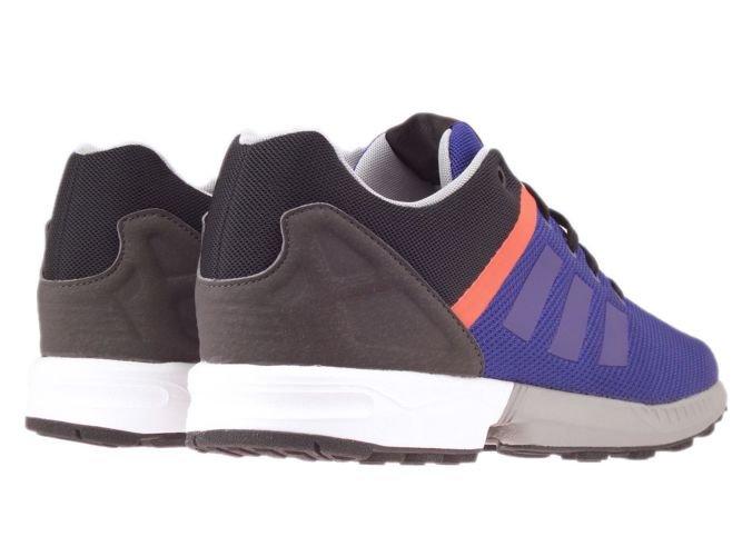 ... AF6357 adidas ZX Flux Split collegiate purple / collegiate purple /  bold orange