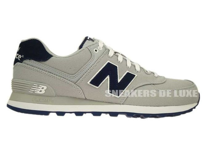 ML574POY New Balance Pique Polo Pack Grey ...