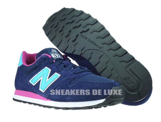 new balance 373 black and pink