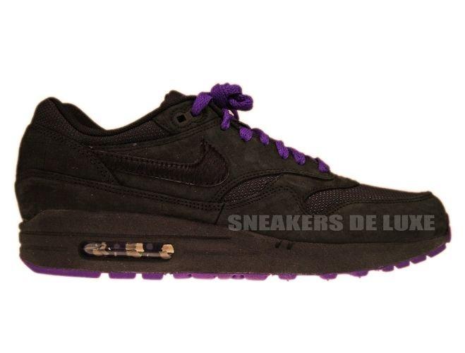 ... 2019 outlet 34d8d 6d7e3 Nike Air Max 1 Air Attack Pack Black Club  Purple 308866- ...
