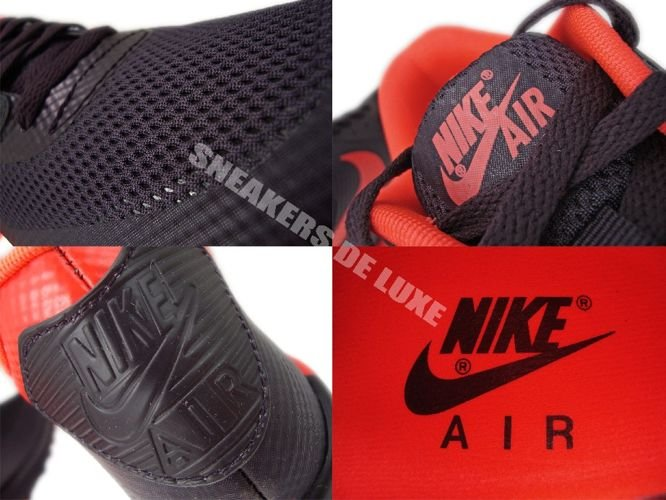Nike Air Max 90 Hyperfuse Bright Red Black White