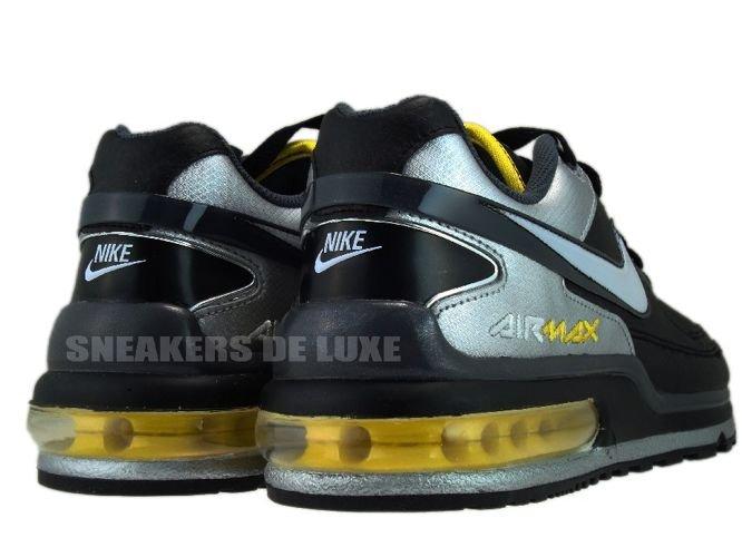 new arrivals 07476 1d6e2 Nike Air Max LTD II Black-White-Dark Grey-Metallic ...