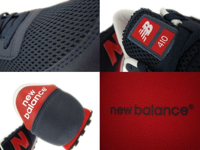 new balance 410 navy red