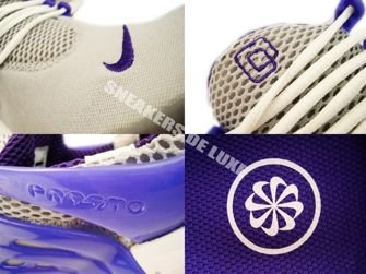 302743-007 Nike Air Presto Wolf Grey/Club Purple-Black-White