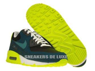 307793-078 Nike Air Max 90 Black/Mineral Teal-Dark Sea-Volt