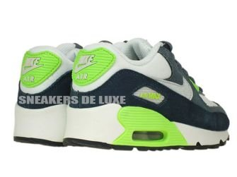 307794-151 Nike Air Max 90 PS White/Pure Platinum-Armory Navy-White