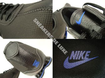 316317-045 Nike Shox Rivalry Black/Hyper Blue