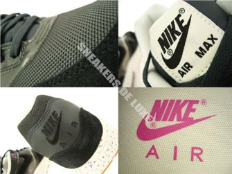 319986-023 Nike Air Max 1 Anthracite/Black-Club Pink-Sail