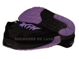 366488-002 Nike Air Max Maxim 1+ Black/Black-Lilac