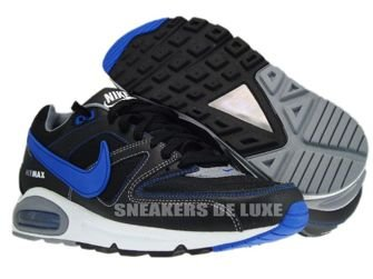 397689-023 Nike Air Max Command Black/Treasure Blue White