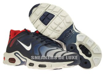 483553-416 Nike Air Max Plus TN Fuse Midnight Navy/White University Red