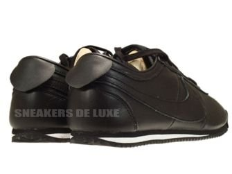 487777-010 Nike Cortez Classic OG Leather Black/Black-White