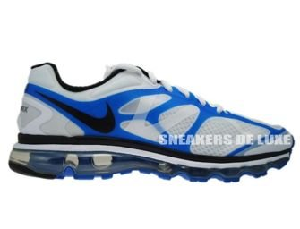 487982-104 Nike Air Max+ 2012 White/Black-Blue Spark