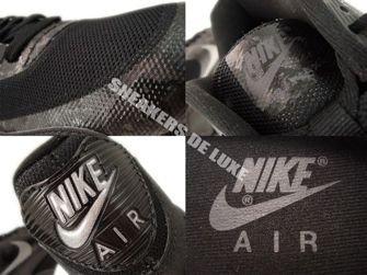 532470-090 Nike Air Max 90 Hyperfuse Premium Black/Reflect Silver-Black