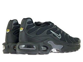 655020-053 Nike Air Max Plus TN 1 Black/Black-Pure Platinum
