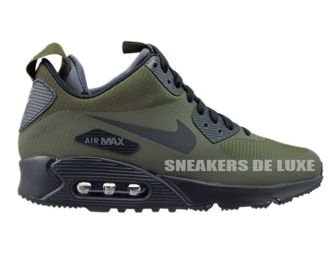 806808-300 Nike Air Max 90 Mid Winter Dark Loden/Black-Dark Grey