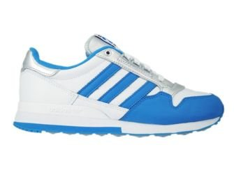 M21520 adidas Originals ZX 500 OG Nigo White/ Bright Blue/ Silver Metallic