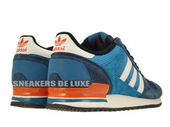 M25838 adidas ZX 700 St Dark Slate / Running White / Collegiate Orange