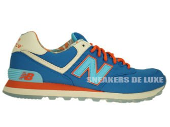 "ML574IBL New Balance 574 Blue Light ""Island Pack"""