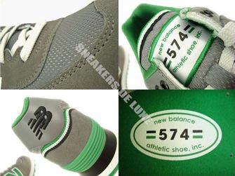 "ML574SJG New Balance 574 Green ""Stadium Jacket"""