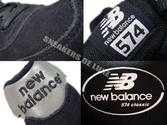 New Balance ML574CPN 574 Black/Silver