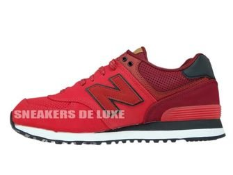 New Balance ML574GPE Red / Dark Red