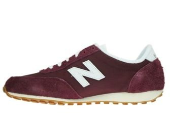 New Balance U410BD Burgundy/White