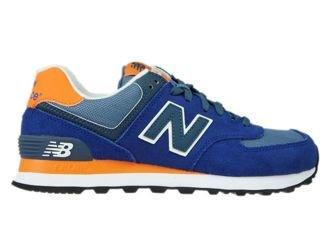 New Balance WL574CPM Blue / Orange