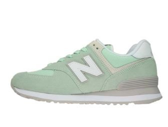 New Balance WL574ESM Seafoam with Overcast