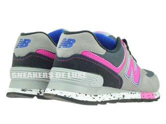 New Balance WL574OGP Grey / Pink