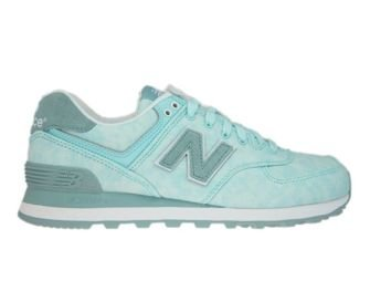 New Balance WL574SWB Ozone Blue with Storm Blue & Teal