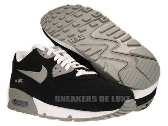 Nike Air Max 90  Black/Medium Grey/White 325018-051