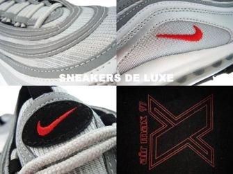 Nike Air Max 97 Metallic Silver/Varsity Red-Neutral 317170 061