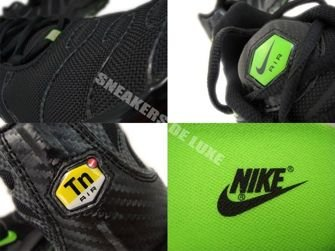 Nike Air Max Plus TN 1 Black/Electric Green