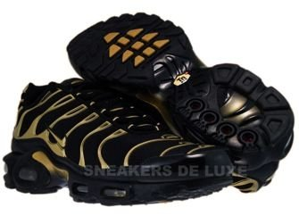 nike tn black gold