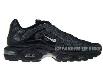 Nike Air Max Plus TN 1 Black/Metallic-Silver Black