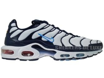 Nike Air Max Plus TN 1 White/White-University Blue-Obsidian