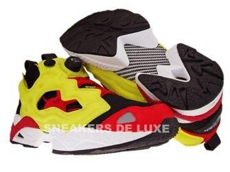 Reebok Insta Pump Fury Respect Pack Black/Yellow/Red 1-J20276