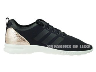 S78962 adidas ZX Flux ADV Smooth Core Black/Copper Met./Core White