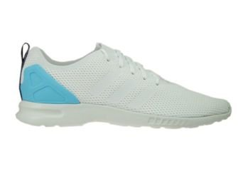 S78965 adidas ZX Flux ADV Smooth Core White/Core White/Blush Blue