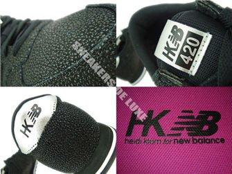 U420BSS New Balance Heidi Klum HKNB 420 Black