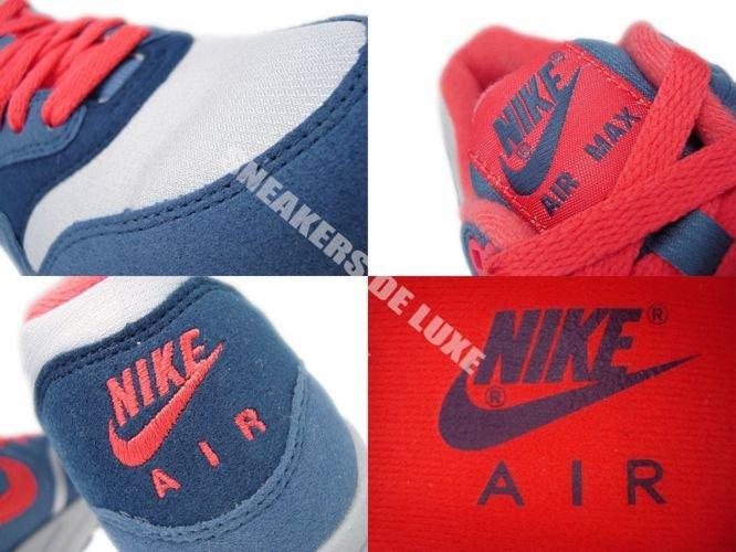 best sneakers c89f1 88b02 ... 319986-022 Nike Air Max 1 Wolf Grey  Sunburst-Utility Blue-Light