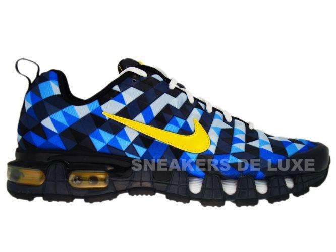 pretty nice 79d7d 83b35 336155-471 Nike Tuned X 10 Skyfade Blue SparkTour Yellow-Bla