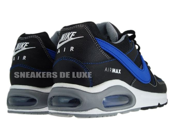 397689-023 Nike Air Max Command Black Treasure Blue White 397689-023 ... 7e78abb43