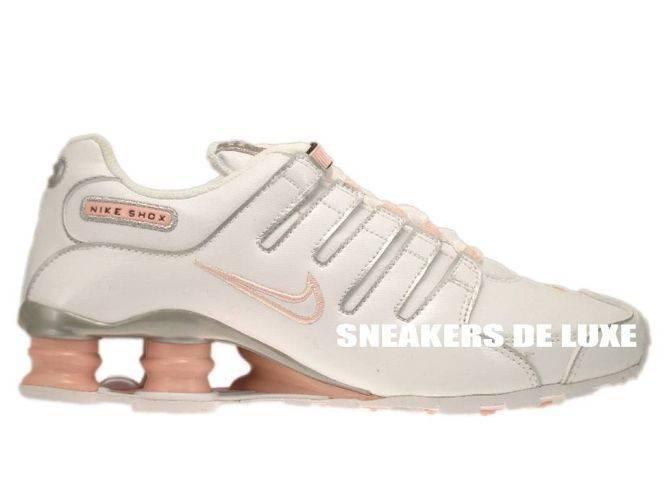 415245-116 Nike Shox NZ White White-Storm Pink-Metallic Silver ... 46d0fc385