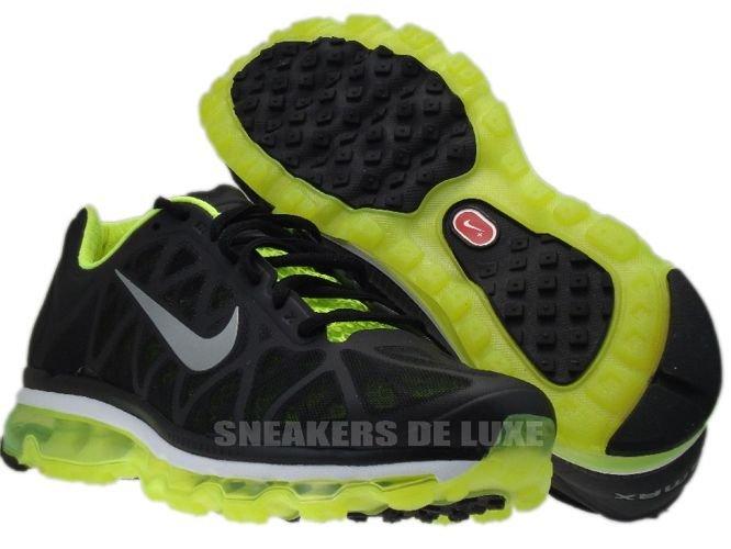 new styles cdcf5 798e7 ... 429889-007 Nike Air Max 2011+ Black Metallic Cool Grey-Volt ...