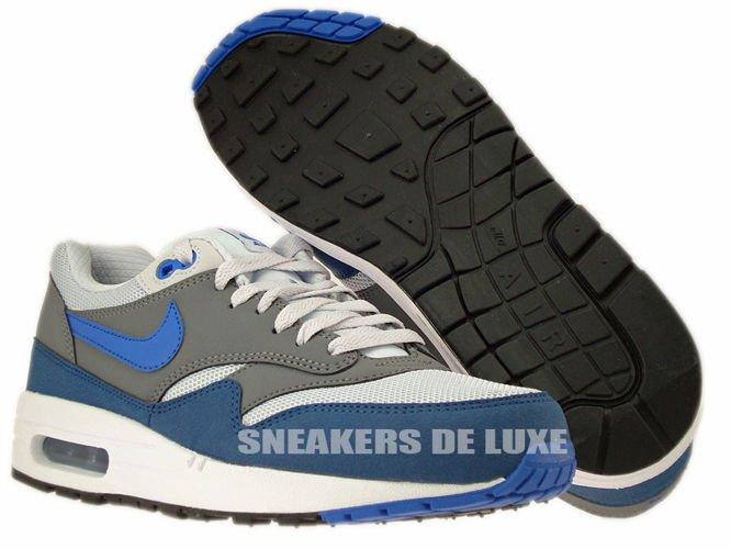 537383 040 Nike Air Max 1 Essential Geyser GreyPrize Blue